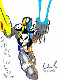 punisher/superpatriot(image comics)