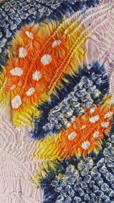 Japanese Textiles, Indigo Dye, Vintage Japanese, Conservation, Old Things, Colours, Antiques, Fabric, Beautiful