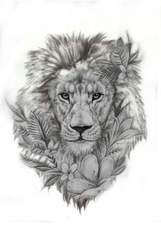 Lion - Tattoo Löwe - Tattoo Designs for Women Lion Forearm Tattoos, Lion Head Tattoos, Leo Tattoos, Bild Tattoos, Dream Tattoos, Animal Tattoos, Future Tattoos, Body Art Tattoos, Sleeve Tattoos