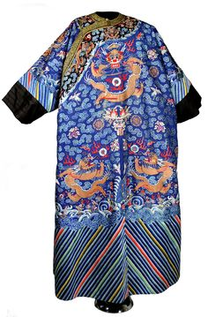 Chinese dragon robe blog from the Oklahoma History Center