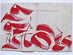 Monica Dengo The passionate pen #calligraphy #pen