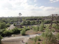 Blick über den Landschaftspark #Duisburg http://www.ausflugsziele-nrw.net/landschaftspark-duisburg/