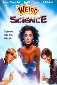 """Weird Science"". (1985) Anthony Michael Hall, Kelly LaBrock"