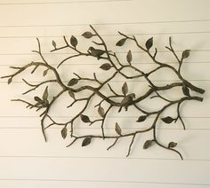 Love metal wall art... and trees... and birds!
