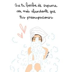 """Ana Marín (@itsanamarin) en Instagram: """"Esta noche cuando llegues a casa, prepárate un baño de espuma y hazte una barba más abundante que…"""""""