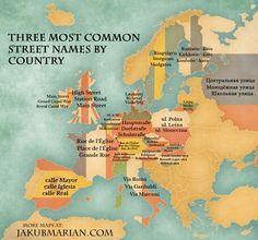 Výsledek obrázku pro most common names in europe