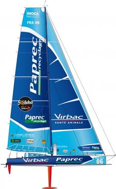 Virbac Paprec- Virbac-Paprec 3, an innovative IMOCA 60', has had two successful years: two victories in the Transat Jacques Vabre and the Barcelona World Race on the same year as well as a 2nd place in the 2011 Rolex Fastnet. ©François Chevalier #VG2012 #VendéeGlobe