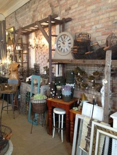 The PORCH & Atelier in Buffalo, Minnesota.  The ladder arbor is interesting.