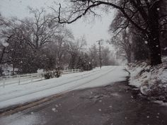 Winter Wonderland. Sonora, California.