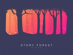 Story Forest by BeardChicken