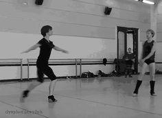 dysphoricsylph: Sergei Polunin in reheasal for Les Lutins, Cuba 2009.