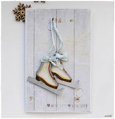 misha_cards / *Vianočné korčule*