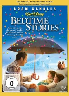 Bedtime Stories  2008 USA      Jetzt bei Amazon Kaufen Jetzt als Blu-ray oder DVD bei Amazon.de bestellen  IMDB Rating 6,0 (43.572)  Darsteller: Adam Sandler, Keri Russell, Guy Pearce, Russell Brand, Richard Griffiths,  Genre: Comedy, Family, Fantasy,  FSK: o.Al.