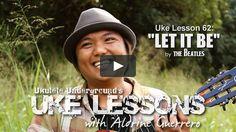 Uke Lesson 62 - Let It Be
