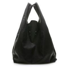 Margiela leather tote.