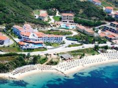 In the village Ouranoupoli of Halkidiki, Akti Ouranoupoli Beach Resort dominates the scenery. At A Glance, Thessaloniki, Greece, United States, River, Island, Mansions, Country, Taxi