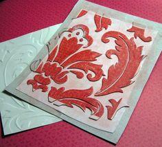 Custom Embossing folders!!!!! From Breakfast Cereal to Artsy Embossing!
