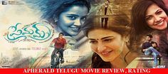 Premam (2016) Telugu Movie Review, Rating