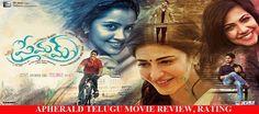 Premam (2016) Telugu Movie Review, Rating
