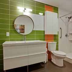 Knowing your options for Midcentury modern bathroom designs will
