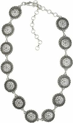 A little something extra   http://www.swell.com/Womens-Accessories-New-Products/STREETS-AHEAD-ROUND-CONCHO-BELT-1?cs=SI#  #belt #silver #concho #chain #boho