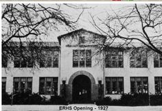 Before the earthquake in the 70's . . . Eagle Rock High School in 1927 Courtesy of ERHS Alumni Association  eaglerock.patch.com