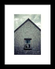 Halloween Framed Print featuring the photograph Hand In The Window by Edward…