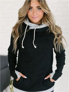 Trendy Fashion, Trendy Outfits, Winter Fashion, Girl Outfits, Cute Outfits, Fashion Ideas, Women's Fashion, Ampersand Avenue, Comfy Hoodies