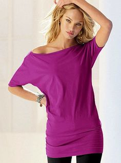 <3 off the shoulder tunics. you can dress them up or down. i like wearing them with leggings and heels!