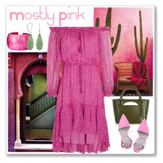 """""""Mostly Pink"""" by dodine ❤ liked on Polyvore featuring Diane Von Furstenberg, J.W. Anderson, Nest and Alexander Wang"""