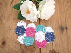 Free Printable Favour Tags by Stelloberry Designs