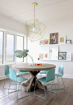 Mimosa y Estraza blog: Deco - lámparas geométricas