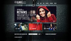 The website and brand identity we developed for Climescape.