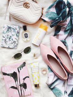 Beach Holiday Essentials.