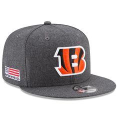 0f5306377f1 Cincinnati Bengals New Era Crafted in the USA Snapback Adjustable Hat –  Heather Gray