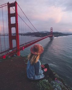 Golden Gate Bridge, San Francisco. Photo creds: insta @ urbanoutfitters