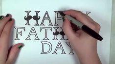Resultado de imagen para fathers day fonts