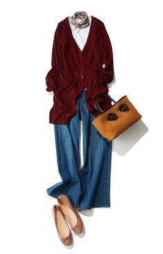 夏真っ盛りですが、ファッションの世界は一足早く秋が到来。今月のスタイリストリコメンドはこの秋注目の、ユニクロの小物の新商品をチェック!Today's pick up初登場の森 陽子さんがその小物類を使ったスタリングを指南してくれます。まずは小物から、おしゃれも秋モードにシフトしてみませんか。スタイリスト 森 陽子さん程よいトレンド感と、絶妙な大人の雰囲気をミックスさせたカジュアルスタイルが読者から... Uniqlo, Couture, Womens Fashion, Polyvore, How To Wear, Outfits, Image, Fashion Ideas, Scrap