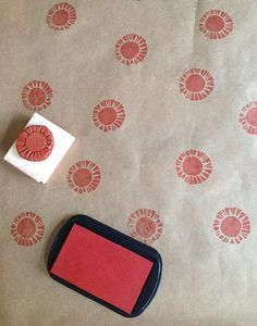Create your own wrapping paper!
