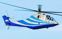 Conheça o novo helicóptero demontrador de alta velocidade da Rússia