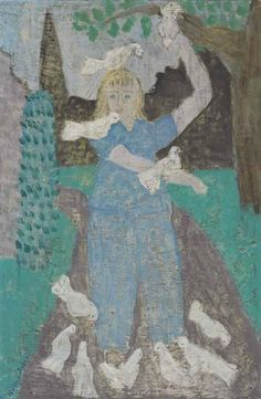 Milton Avery, March with Doves