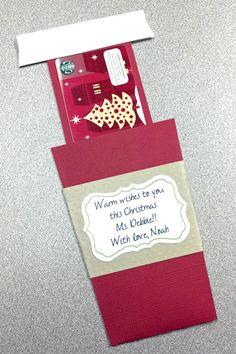 DIY Gift Card Holder For Christmas