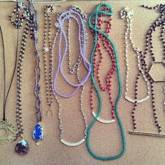 Handmade necklaces by  myfashionfruit.com