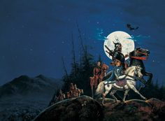 Darrell K. Sweet's cover for book 1 of the Wheel of Time series, The Eye of the World