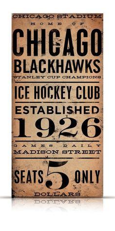 CHICAGO BLACKHAWKS hockey club original graphic art on gallery wrapped canvas by stephen fowler Chicago Blackhawks, Blackhawks Hockey, Hockey Teams, Hockey Players, Chicago Bears, Hockey Stuff, Hockey Room, Hockey Baby, Ice Hockey