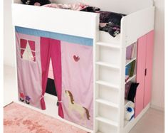 Tenda Per Letto A Castello Ikea : Bunk bed playhouse bed tent loft bed curtain free design and