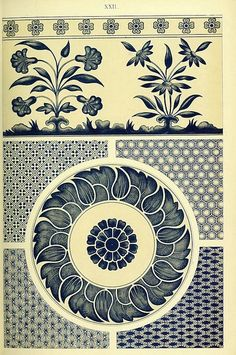 Examples of Chinese ornament selected from objects in the South Kensington Museum and other collections (1867) by Owen Jones