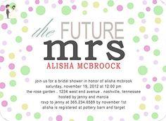 Handmade Custom Colorful Bubbles Bridal Shower Invitations - Wedding party invitations (*Amazon Partner-Link)