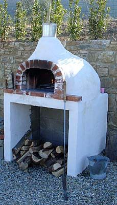 For the outdoor kitchen. The Wood Fired Pizza Oven: An Introduction