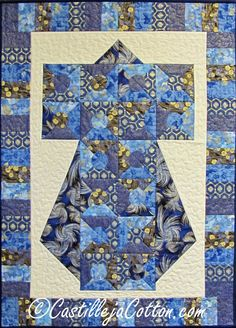 Kimono Quilted Wall Hanging Asian Odyssey by castillejacotton, $75.00